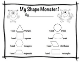 My Shape Monster