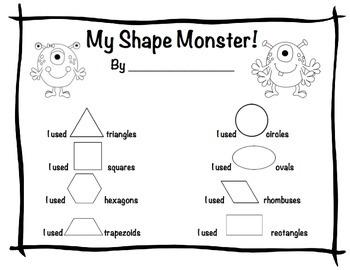 My Shape Monster