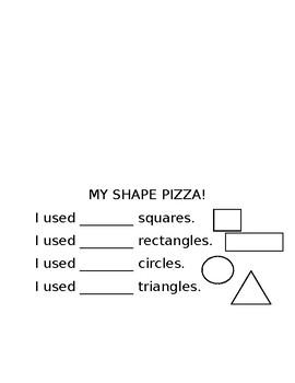 My Shape Pizza!