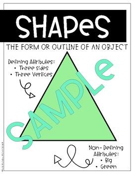 My Shape Pizza (A Math Craft)