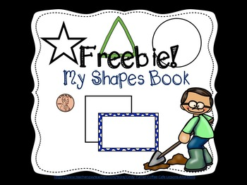 My Shapes Book Freebie