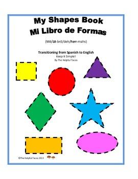 My Shapes Book, Mi Libro de Formas