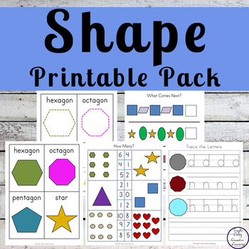 My Shapes Pack