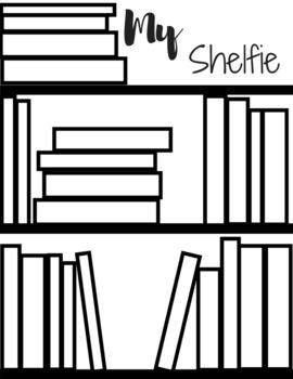 FREE My Shelfie! Book Challenge Reading Paper