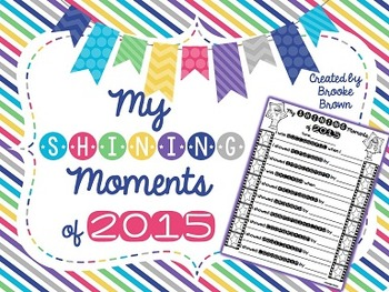 My Shining Moments of 2015 {FREE poster}