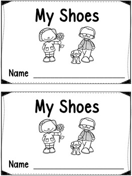 My Shoes - A Color Word Book & Color Shoes Mini Posters