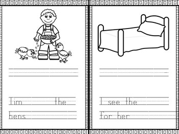 My Short E Book- CVC WORD PRACTICE WITH SENTENCES