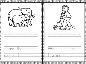 My Short I Book- CVC WORD PRACTICE WITH SENTENCES