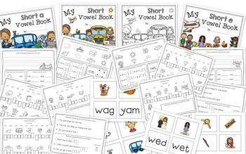 My Short Vowel Books