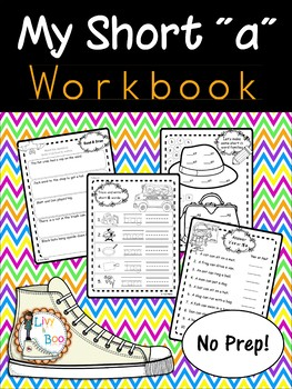My Short 'a' Workbook