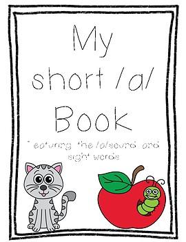 My Short /a/ sound book