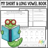 My Short and Long Vowel Book Template