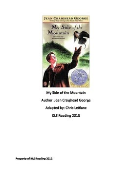 My Side of the Mountain - Adapted Book