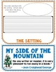 My Side of the Mountain Book Companion, Flip Book Project, Novel Guide