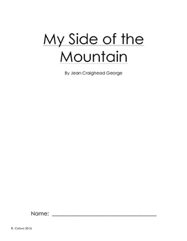 My Side of the Mountain Guided Reading Book Group
