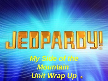 My Side of the Mountain Jeopardy