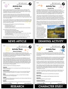 My Side of the Mountain - Literature Kit Gr. 5-6 - BONUS WORKSHEETS