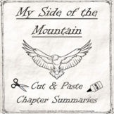 My Side of the Mountain Chapter Summary Cut & Paste Chronological Order