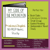 My Side of the Mountain Novel Study - Distance Learning