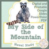 My Side of the Mountain Distance Learning, Novel Study, Independent Work, Google