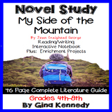 My Side of the Mountain Novel Study + Enrichment Project Menu