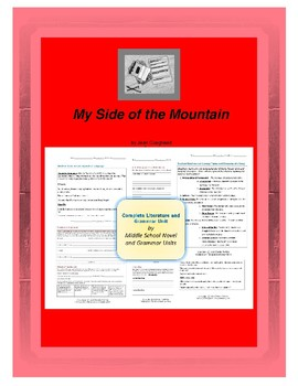 My Side of the Mountain Complete Literature and Grammar Unit