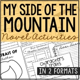 MY SIDE OF THE MOUNTAIN Novel Study Unit Activities | Creative Book Report