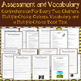 My Side of the Mountain by Jean Craighead George Assessment and Vocabulary