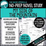 My Side of the Mountain Novel Study - Distance Learning - Google Classroom