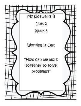 My Sidewalks B, Unit 2, Week 5 Resource Pack