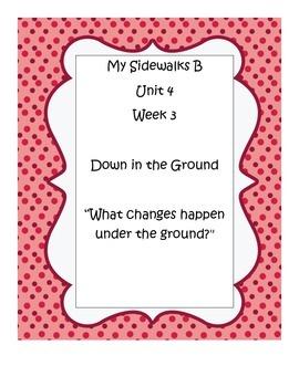 My Sidewalks B, Unit 4, Week 3 Resource Pack