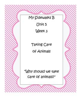 My Sidewalks B, Unit 5, Week 3 Resource Pack
