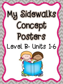 My Sidewalks Concept Posters Level B