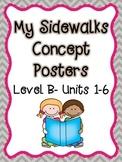 My Sidewalks Concept Posters Level B