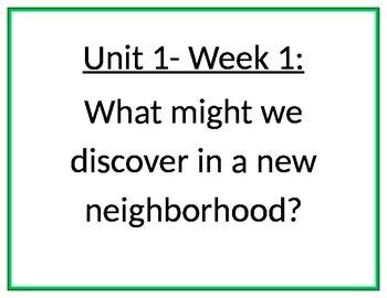 My Sidewalks Essential Questions - Grade 2 (Word)