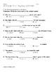 My Sidewalks Level A  Unit 5 Week 4 Vocabulary Test