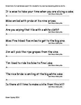 My Sidewalks Level B Unit 2 Week 4 Fluency Sentences