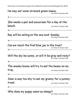 My Sidewalks Level B Unit 4 Week 2 Fluency Sentences