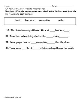 My Sidewalks Level B Unit 6 Week 4 Vocabulary Test