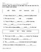 My Sidewalks Level B Unit 6 Week 6 Vocabulary Test
