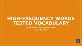 My Sidewalks Level B: Unit Five High Frequency Vocabulary