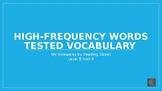 My Sidewalks Level B: Unit Four High Frequency Vocabulary