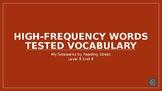 My Sidewalks Level B: Unit Six High Frequency Vocabulary P