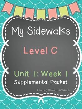 My Sidewalks Level C Unit 1:Week 1