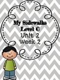 My Sidewalks Level C Unit 2 Week 2 Supplemental Packet