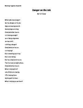 My Sidewalks Reading Street level B Book 2 fluency stories