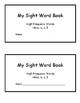 My Sight Word Book
