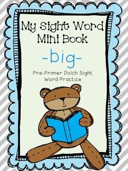 My Sight Word Book - BIG