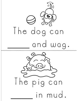 My Sight Word Book - PLAY