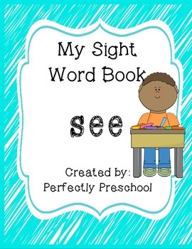 My Sight Word Book: see